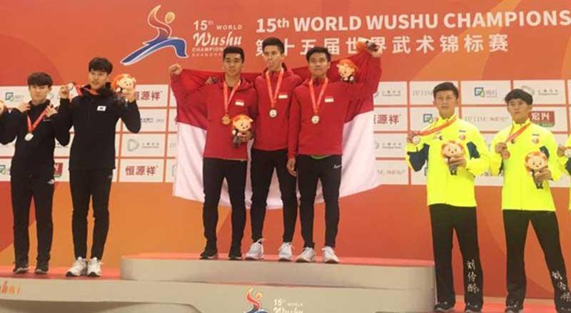 Tim Indonesia Langsung Juara Dunia