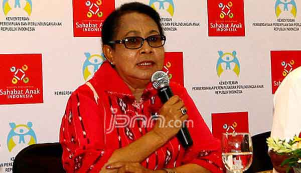 Menteri Yohana Geram Lihat Video Guru Tampar Murid di Purwokerto