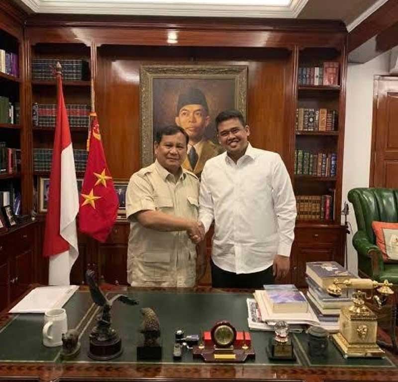 Menantu Presiden-Putri Wapres Lobi Prabowo