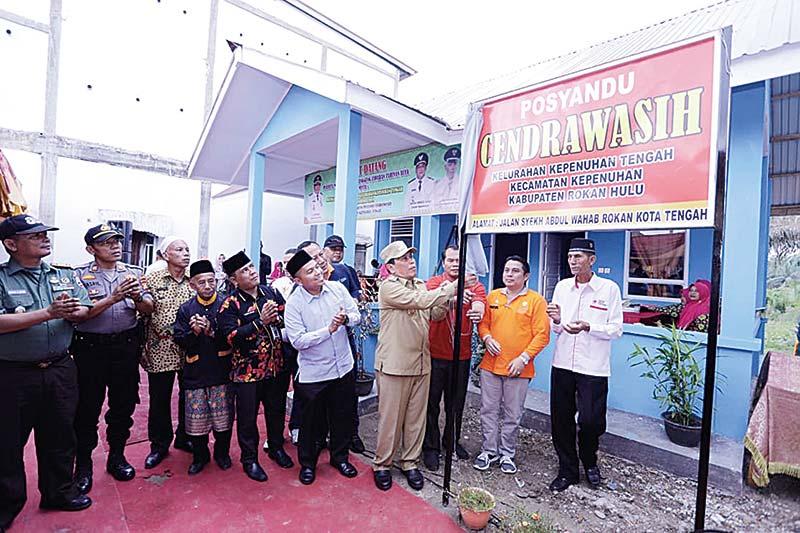 Posyandu Cendrawasih Diresmikan