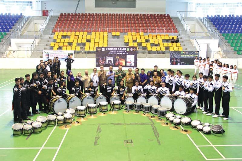 Marching Band DMDC dan BCK Siap Ikut Grand Prix 2019