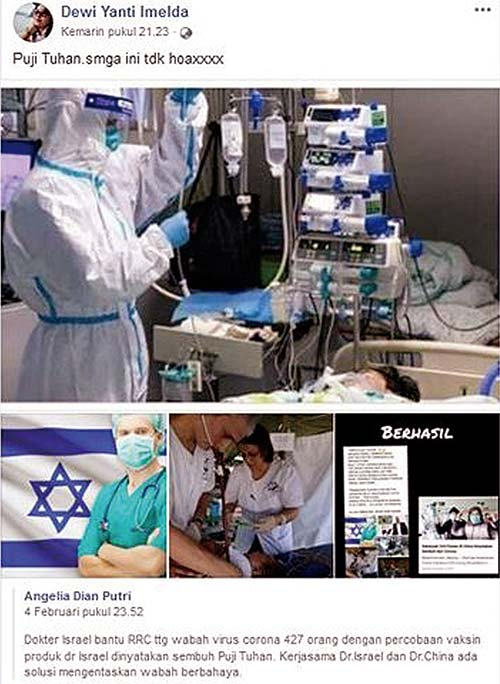 Vaksin Israel Atasi Corona