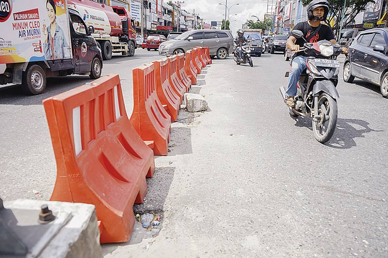 U-Turn Jadi Titik Macet