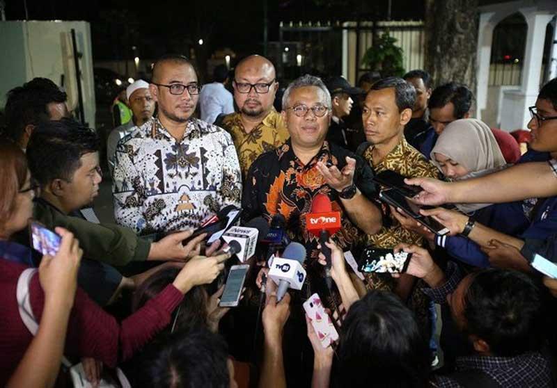 Ketua KPU Kaget Wahyu Setiawan Kena OTT KPK