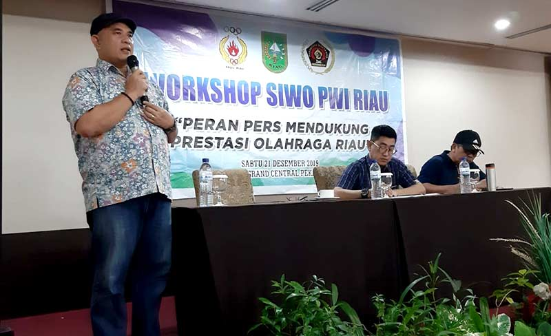 SIWO PWI Riau Gelar Workshop