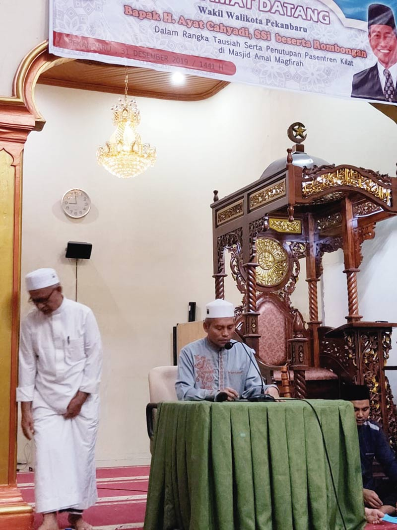 Wawako Ajak Remaja Ramaikan Masjid
