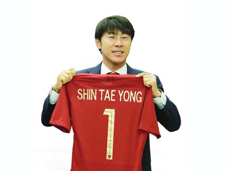 Teken Kontrak, Shin Tae-yong Pelatih Baru Timnas