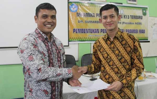 AGSI Riau Terbentuk, Maruhum Manik Terpilih jadi Ketua
