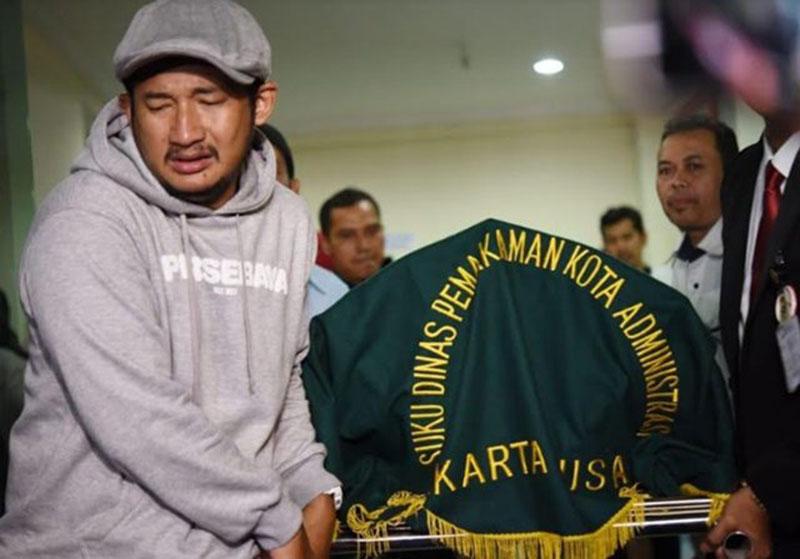 Jenazah Hercules Dibawa ke Bandung