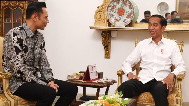 AHY Temui Jokowi Lagi, Hmmm... Ada Apa Nih?