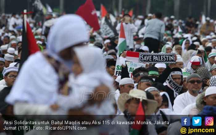 Dengan Harta atau Nyawa, Pemuda Islam Siap Bebaskan Baitul Maqdis