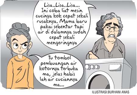 Kehilangan Air Cucian