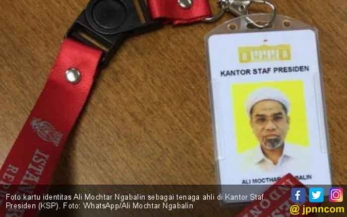 Ngabalin Masuk Istana, Habib Novel Kaitkan dengan Perpecahan PA 212