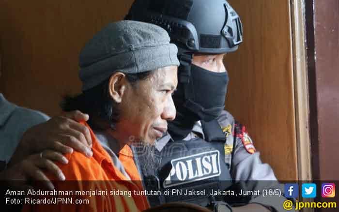 Pengamat Terorisme: Aman Takut Dihukum Mati hingga Cari Simpati Hakim