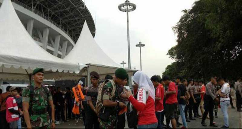 11 Ribu Personel TNI dan Polri Amankan Laga Indonesia vs Malaysia