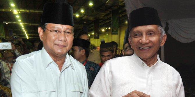 Amien Rais Akan Kritisi Prabowo Cs Setelah 6 Bulan