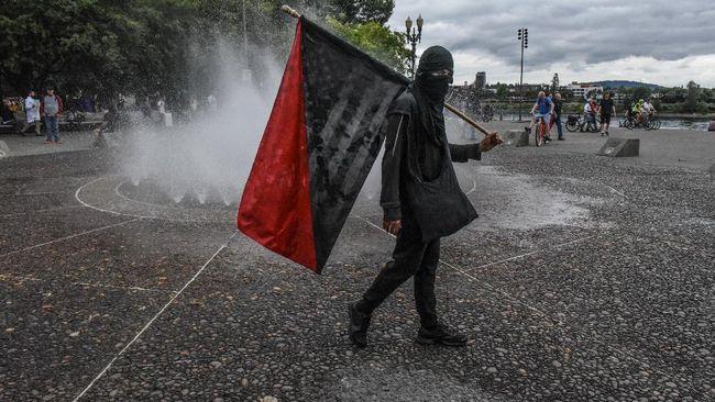 Tentang Antifa, Kelompok yang Dituding Trump di Belakang Demo Rusuh di AS