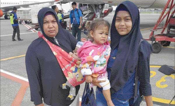 Andini Bertemu Menteri Susi di Jakarta