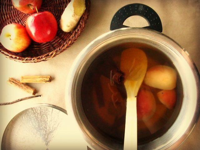 Rutin Minum Rebusan Jahe dan Apel Efektif Turunkan Berat Badan