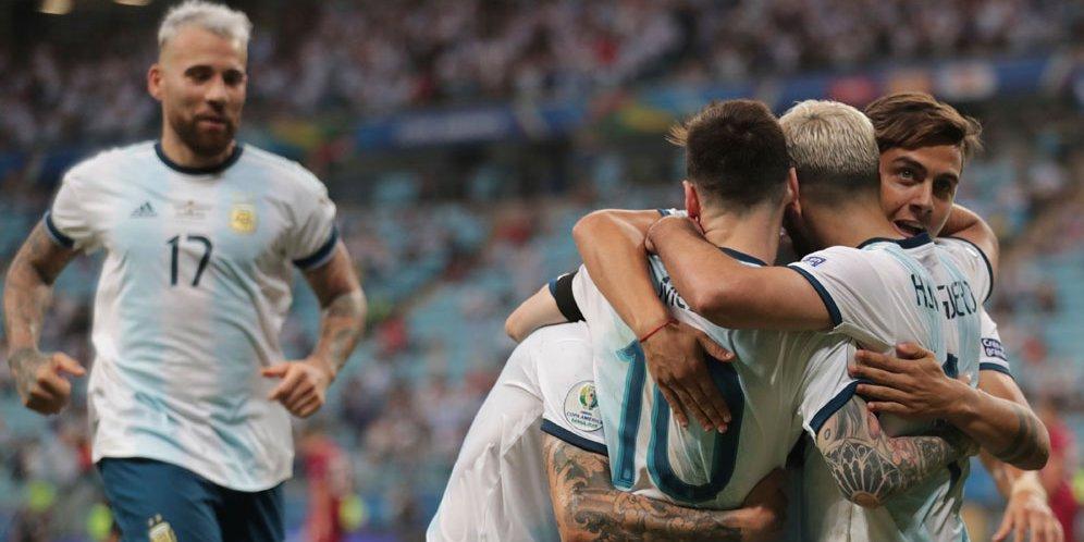 Argentina ke Semifinal, Messi: Rumput Stadion Buruk