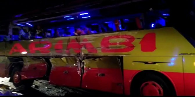 Kronologi Kecelakaan Bus Maut yang Tewaskan 7 Orang