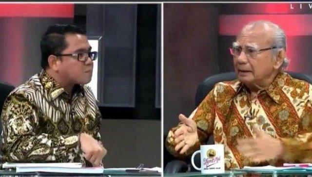 Emil Salim: Tak Ada Permintaan Maaf Arteria Dahlan