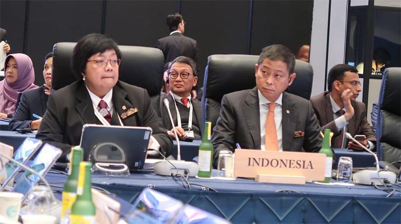 Pertemuan G20, Indonesia Tegaskan Hak Untuk Mendapatkan Lingkungan Hidup