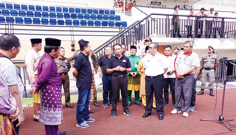 Stadion Utama Riau Jadi Lokasi Training Camp PD U-20