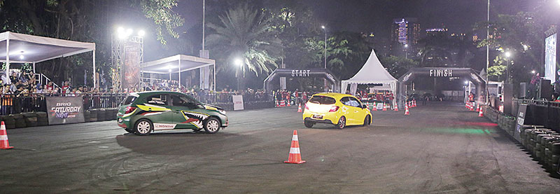 Brio Saturday Night Challenge 2019 Sukses Digelar