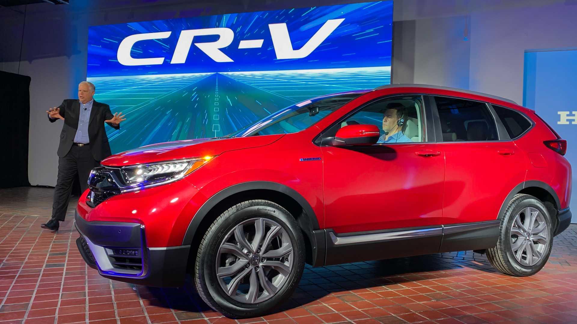 Honda Akan Boyong CR-V Hybrid
