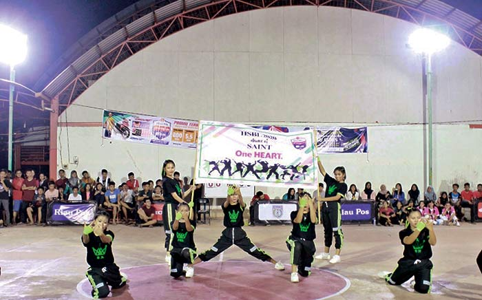 Para Dancer Unjuk Kebolehan di Ajang Honda HSBL Seri Dumai