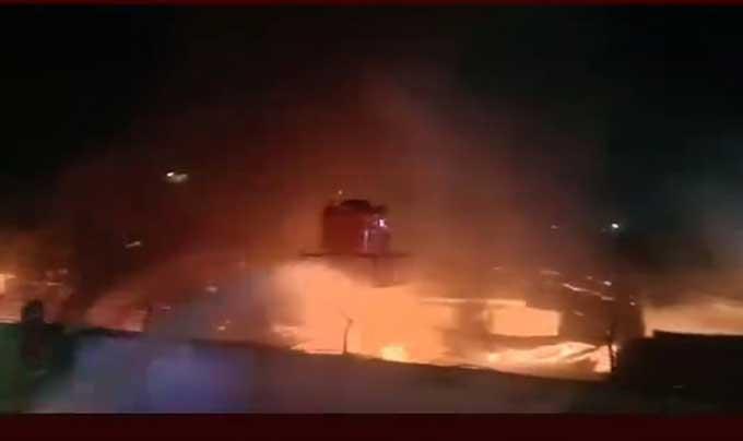 Markas Besar Toyota Dilalap Api
