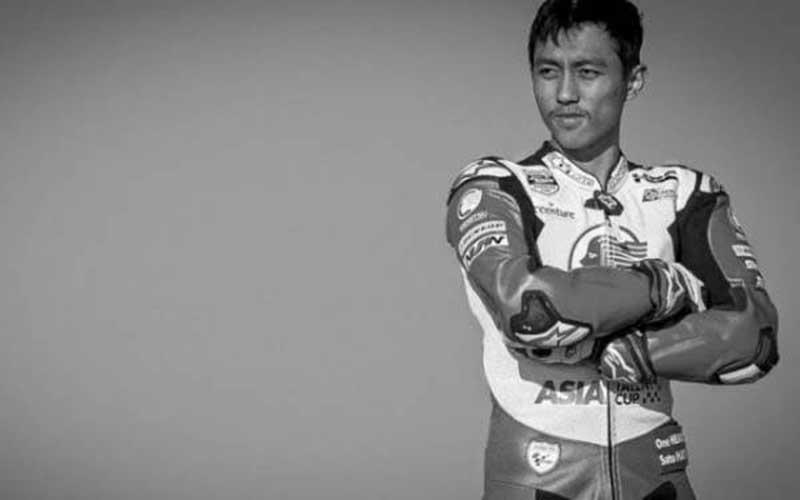 Jenazah Pembalap Indonesia Afridza Tiba di Jakarta dan Langsung ke Tasikmalaya
