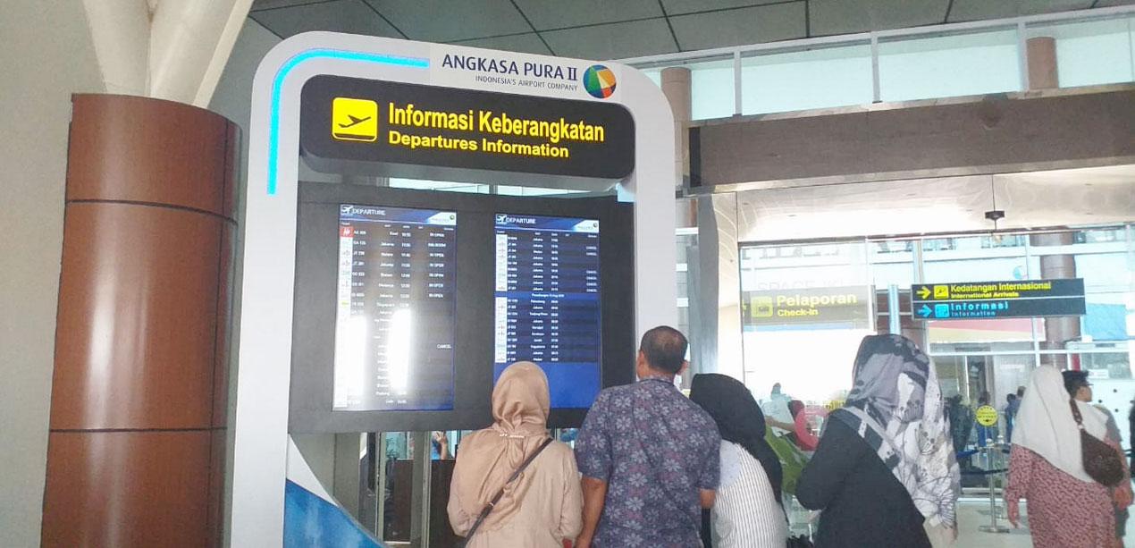 Jarak Pandang Tiga Km, Operasional Bandara Masih Normal
