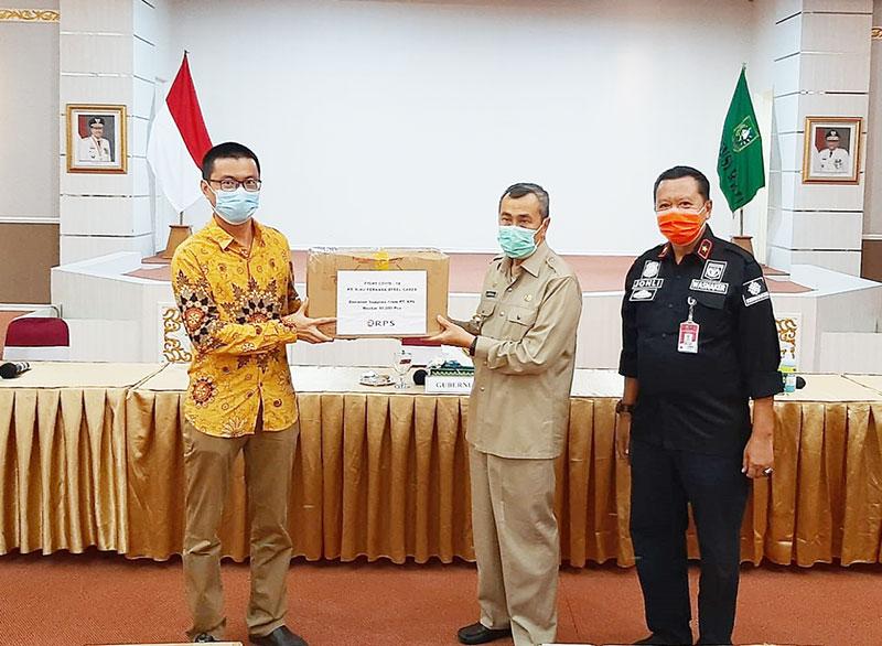 Perusahaan Diimbau Bantu Sumbang Masker