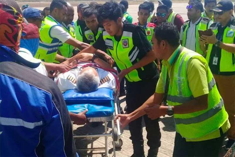 Pesawat Batik Air Mendarat Darurat di Bandara El Tari Kupang