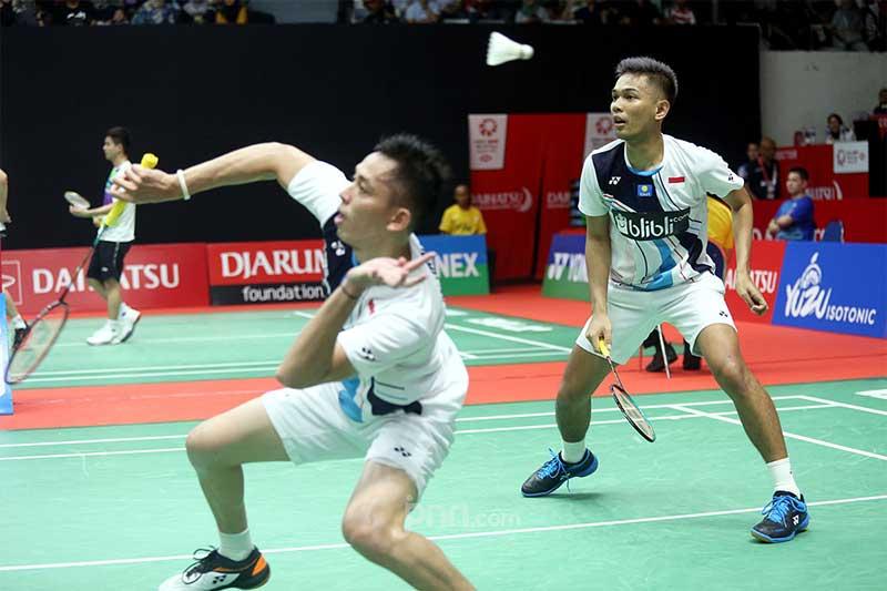Singkirkan Wakil Cina, Fajri dan Ginting Tembus Perempatfinal