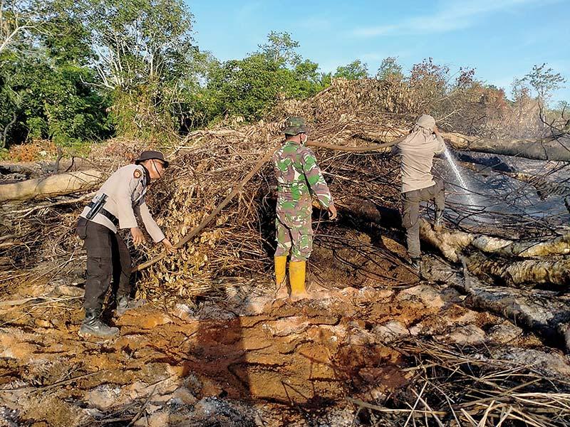 Karhutla di Beberapa Desa Berhasil Dipadamkan