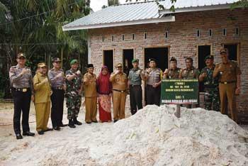 Rumah Dibedah TNI, Jusini Terharu
