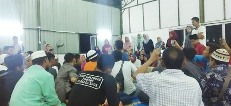 TKI Meranti Tewas Setelah Jatuh Dari Lantai 33 FC Johor Bahru