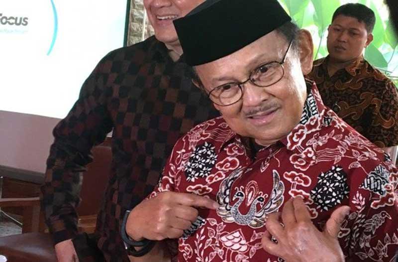 Presiden ke-3 Republik Indonesia BJ Habibie Wafat