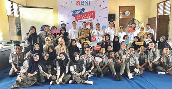 BNI Ajak Milenial Ngobrol Financial Planning & Green Lifestyle