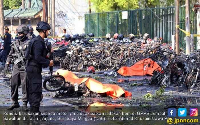 Sudah Jalankan Prosedur, Moeldoko Bantah Polisi Kecolongan Terkait Teror Bom