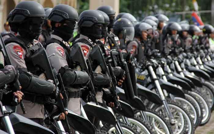 Tingkat Stres Tinggi, Anggota Brimob Nekat Tembak Kepala Sendiri