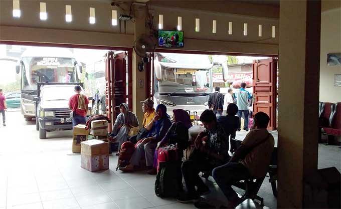 Harga Tiket Pesawat Naik, Penumpang Bus Meningkat