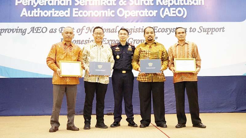 BC Dorong Perusahaan Terima Sertifikat AEO
