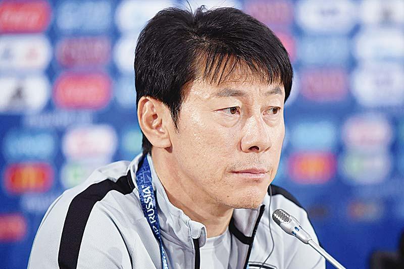 Shin Tae Yong Tiba Hari Ini