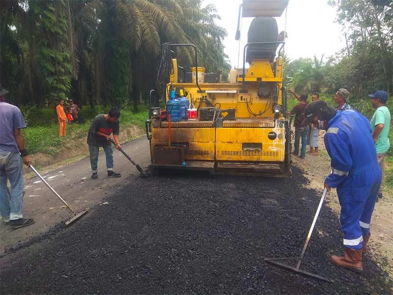 Pemkab Inhu Kucurkan Anggaran Rp67,7 M untuk Pembangunan Jalan Kabupaten