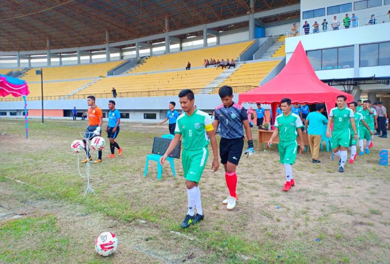 Target Juara, Sampurago FC Boyong Pemain Kuansing United