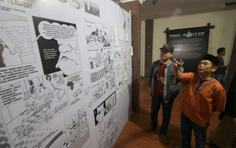Pameran Komik Yong Dolah Dibuka